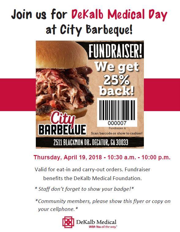 City bbq event