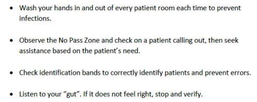 patient safey info