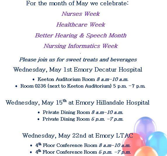 staff celebrations may